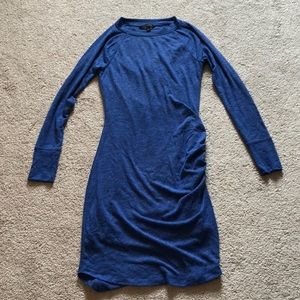 Banana Replubic dress with side ruching in sz xs